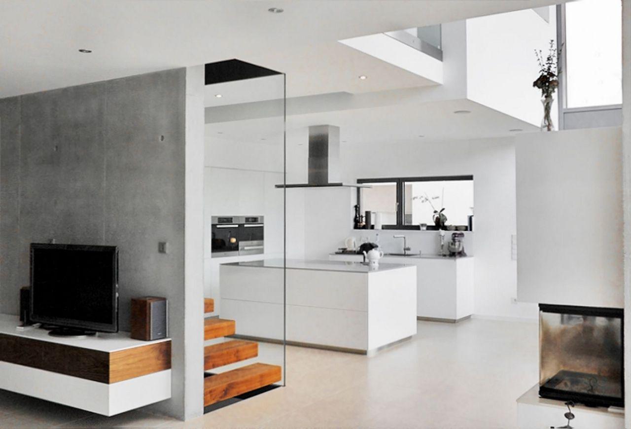 Unlimited architekten wohnen haus ade for Modernes haus mit luftraum